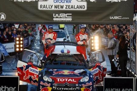 Sébastien Loeb vence por tercera vez en el Rally de Nueva Zelanda