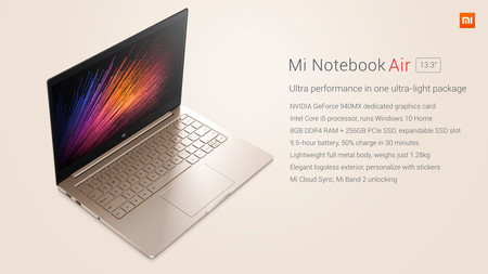 Portátil Xiaomi Air 13 por 668 euros y envío gratis en GearBest