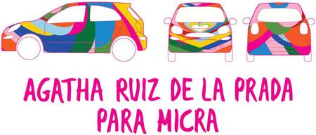 Agatha Ruíz de la Prada vestirá al Nissan Micra