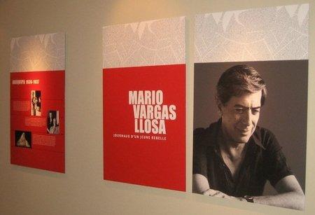 Exposición sobre Vargas Llosa en París