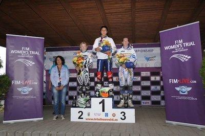 Entrevista Laia Sanz campeona del mundo de trial femenino 2011