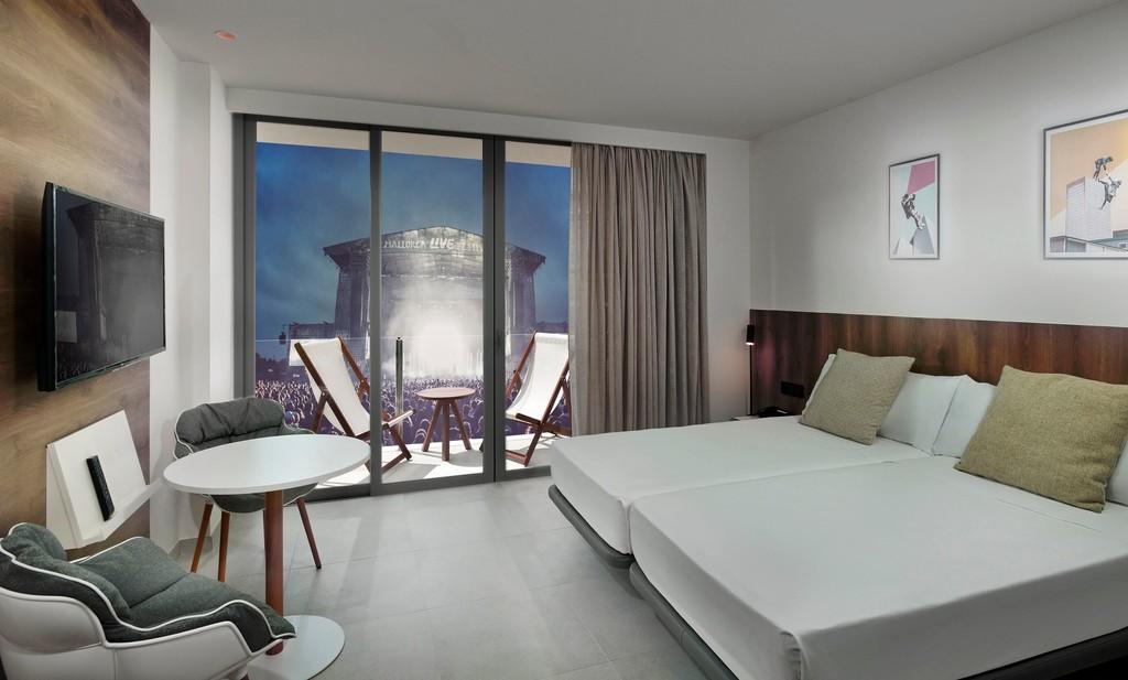 INNSiDE by Meliá diseña una habitación de hotel en un contenedor para el Mallorca Live Festival 2019