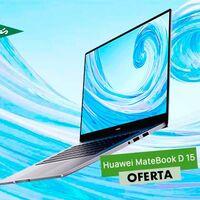 Por sólo 549 euros, tienes un ligero portátil de gama media como el Huawei MateBook D 15 en El Corte Inglés