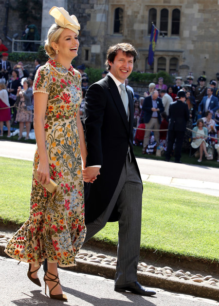 Sofia Wellesley Y James Blunt Boda Principe Harry