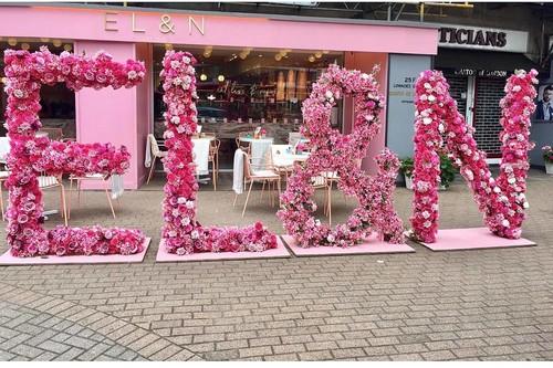 EL&AN LONDON: Posiblemente una de las cafeterías más instagrameables de Reino Unido