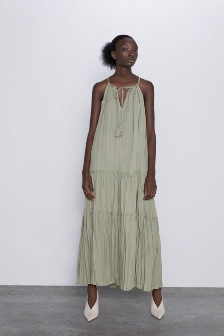 Vestidos Arrugados Zara 1