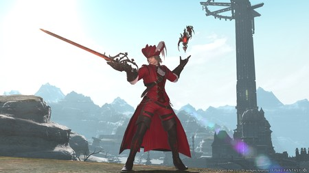 Final Fantasy Xiv Stormblood Mago Rojo