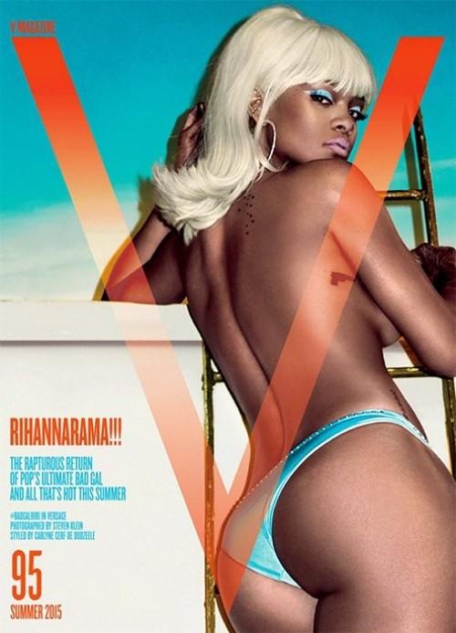 Rihanna y Kristen Stewart, dos portadas como el día y la noche