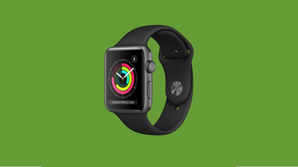 Apple Watch Series 3 en oferta por 170,99 euros: llévate hoy uno de los mejores relojes inteligentes con 48 euros de descuento
