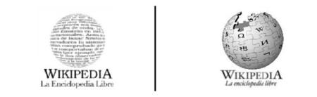 Logos de la Wikipedia en español