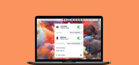 Esta aplicación gratuita para macOS eliminará tu ruido de fondo en llamadas o videollamadas