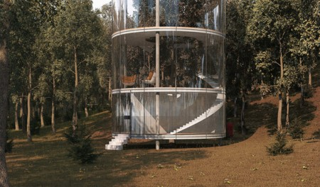 Tubular Glass House 9