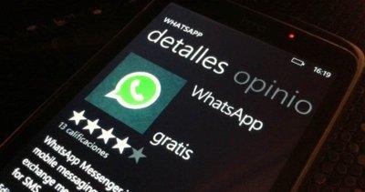 WhatsApp desaparece del Marketplace de Windows Phone sin dejar rastro, pero aún funciona