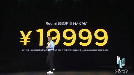 Xiaomi Redmi Tv Max 98 Pulgadas 4k Hdr Precio
