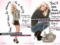 Britney Spears y su línea de ropa en edición limitada para Candie's.