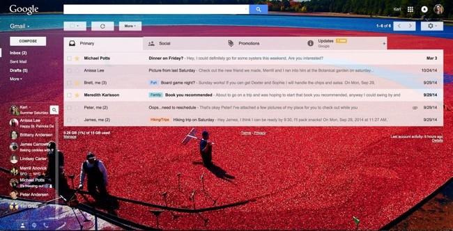 Gmail Tema