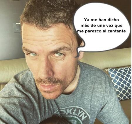 Dani Martín está en Tinder, pero no es él: es su (sospechosamente) parecido 'primo' Iker