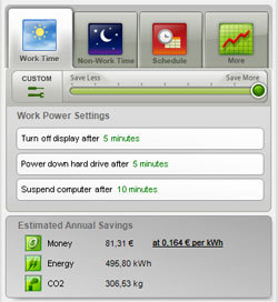 Edison, ahorra energía con Windows