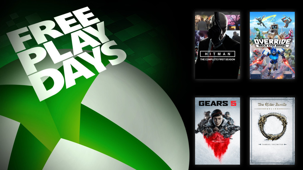 Gears 5, Hitman: The Complete First Season y The Elder Scrolls Online se jugarán gratis este fin de semana en Xbox One