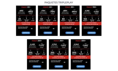 Totalplay Netflix Match Triple Play