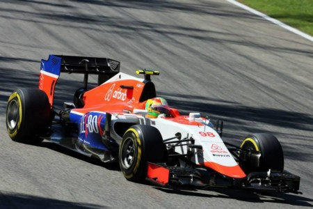 Merhi Manor Italia Gp 2015