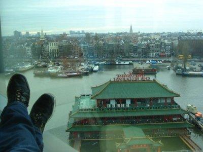 Una biblioteca-mirador en Amsterdam