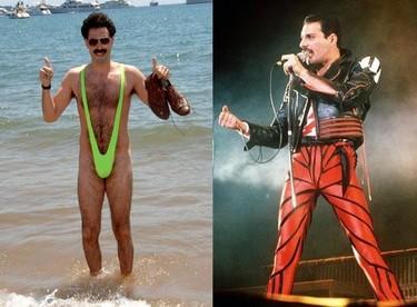 Agarraos que vienen curvas: ¡Borat será Freddie Mercury!