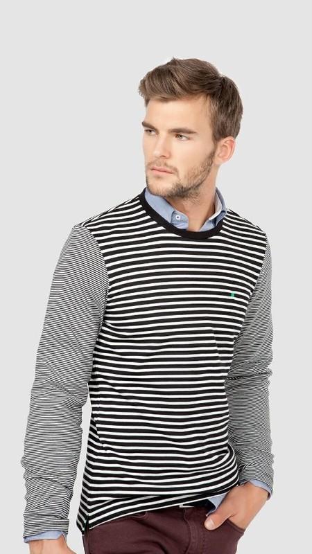 Camiseta rayas estilo navy