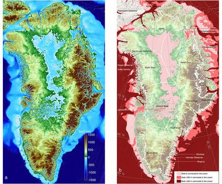 Groenlandia sin hielo