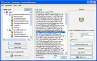 Windows Live Messenger Content Retriever, maneja los ficheros de Messenger
