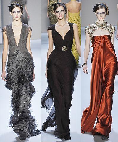 Monique Lhuillier en la Semana de la Moda de Nueva York otoño/invierno 2008/2009