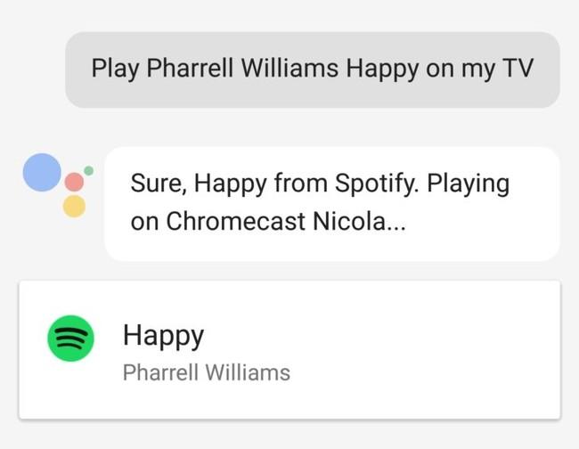 Phone Assistant Music Chromecast