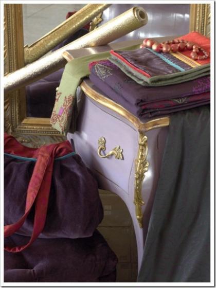 Barroco y rococó en los textiles