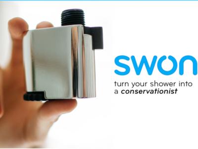 Swon cuantifica tus duchas diarias ayudándote a ahorrar agua y energía