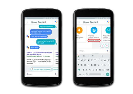 Google Assistant, aprendizaje