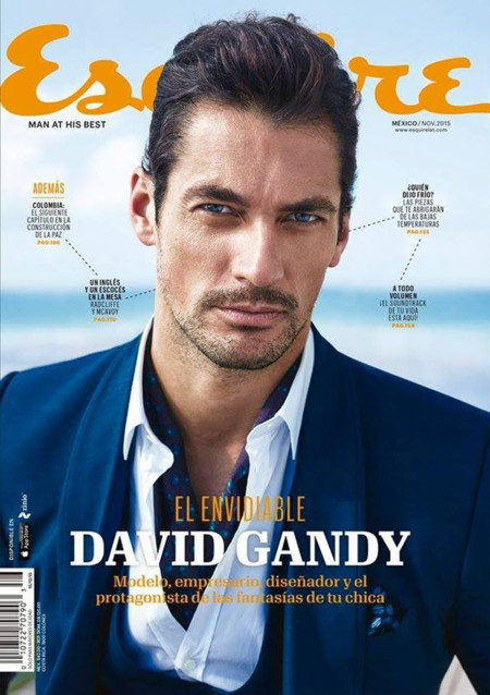 David Gandy Esquire Mexico November 2015 Cover 001