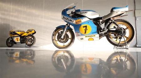 Yamaha YZR500 vs Suzuki RG500