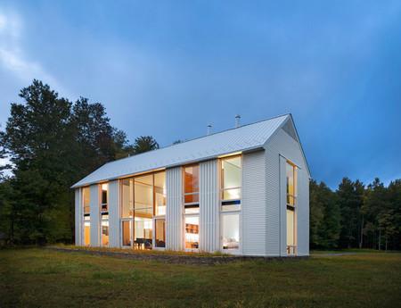 Casas poco convencionales: una granja del siglo XXI en Pensilvania