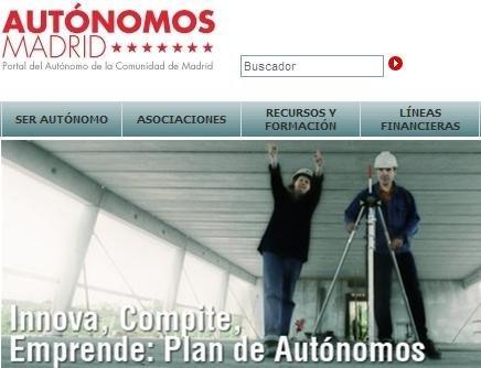 Los autónomos en madrid.org