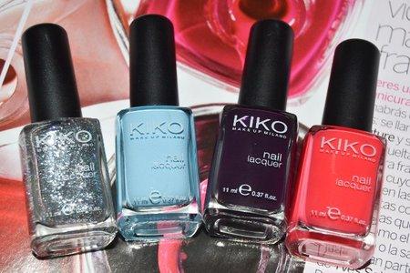 Mis últimos colores en pintauñas Kiko