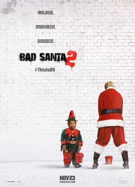Teaser póster de Bad Santa 2