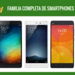 Así queda el catálogo completo de smartphones Xiaomi tras la llegada del RedMi Note 3