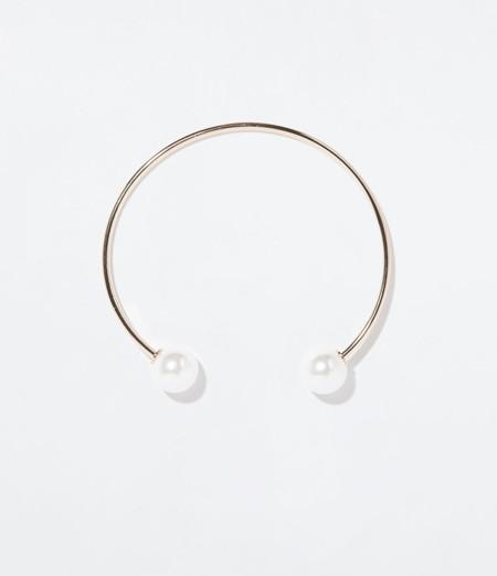 Clon collar perlas choker Chanel Primavera-Verano 2014 Zara