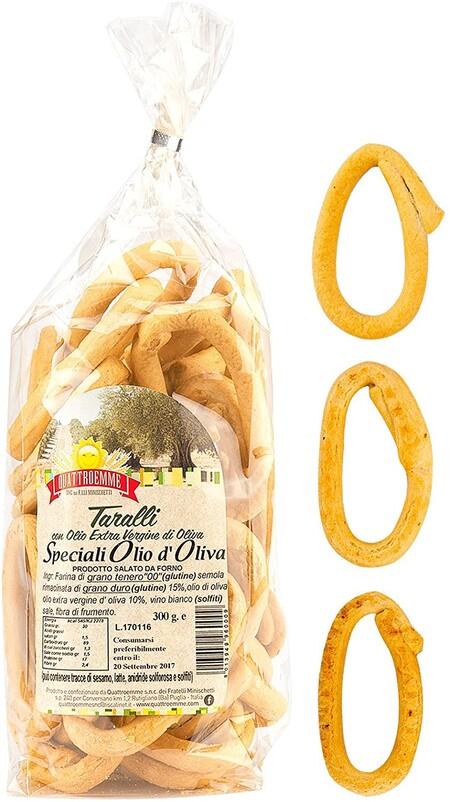 Taralli De Apulia Con Aceite De Oliva Virgen Extra 3 Paquetes De 300 Ghttps://www.amazon.es/Taralli-Apulia-Aceite-virgen-paquetes/dp/B07FFH3346/ref=sr_1_12?dchild=1&qid=1612867380&rnid=6198073031&s=grocery&sr=1-12