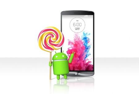 LG G3 comienza a recibir Lollipop en México