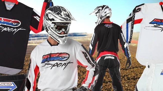 Foto de AXO Trans Am, estilo retro para la equipación de motocross (13/15)