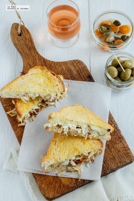 Sandwich Pollo Camembert