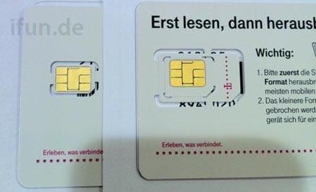 Las primeras tarjetas nanoSIM comienzan a llegar a los operadores europeos