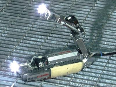 Un robot «escorpión» de Toshiba intentará llegar hasta los reactores de Fukushima