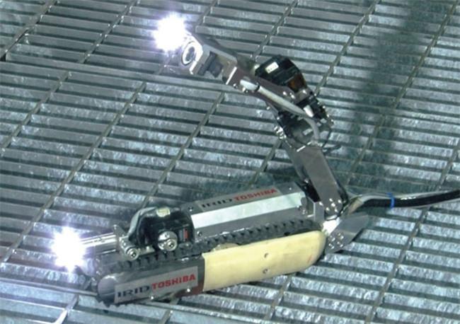 Este robot escorpión es el único capaz de llegar hasta los reactores de Fukushima
